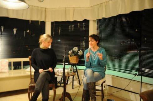 Bokbader Anne Gjetanger om hennes forfatterskap 2010
